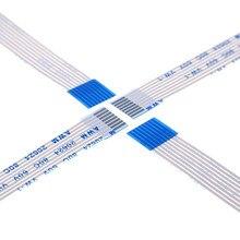 1000 Pcs Flexibele Platte Kabel Ffc 8 Pin 1.0 Mm Pitch Dezelfde Contact Zijden Lengte 60 70 80 100 120 150 200 300 400 500 600 700 Mm