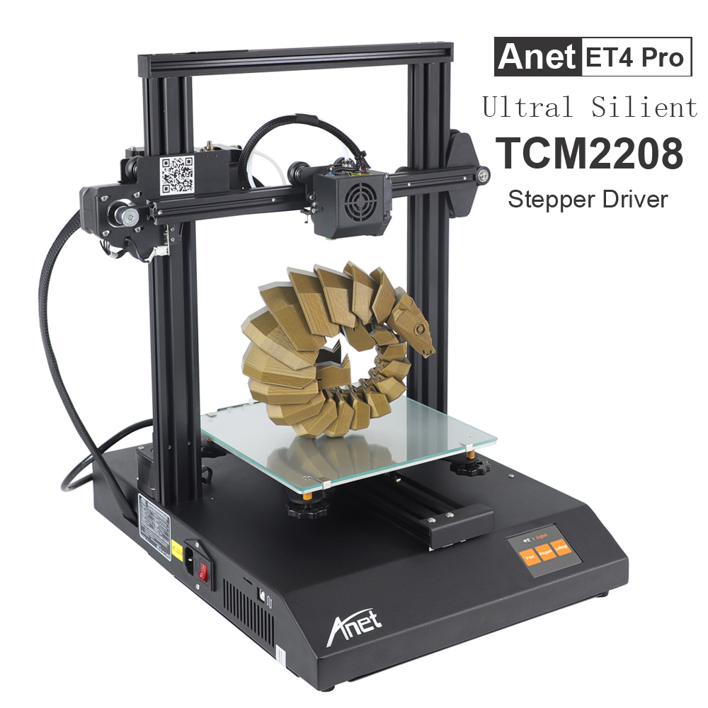Anet ET4 ET4 Pro 3d Printer High Precision TMC2208 Prusa I3 FDM 3d Printer Kit Diy Shipping From Moscow Russian Europe Warehouse
