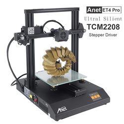 Anet ET4 ET4 Pro imprimante 3d haute précision TMC2208 Prusa i3 FDM 3d imprimante Kit bricolage expédition de moscou russie Europe entrepôt