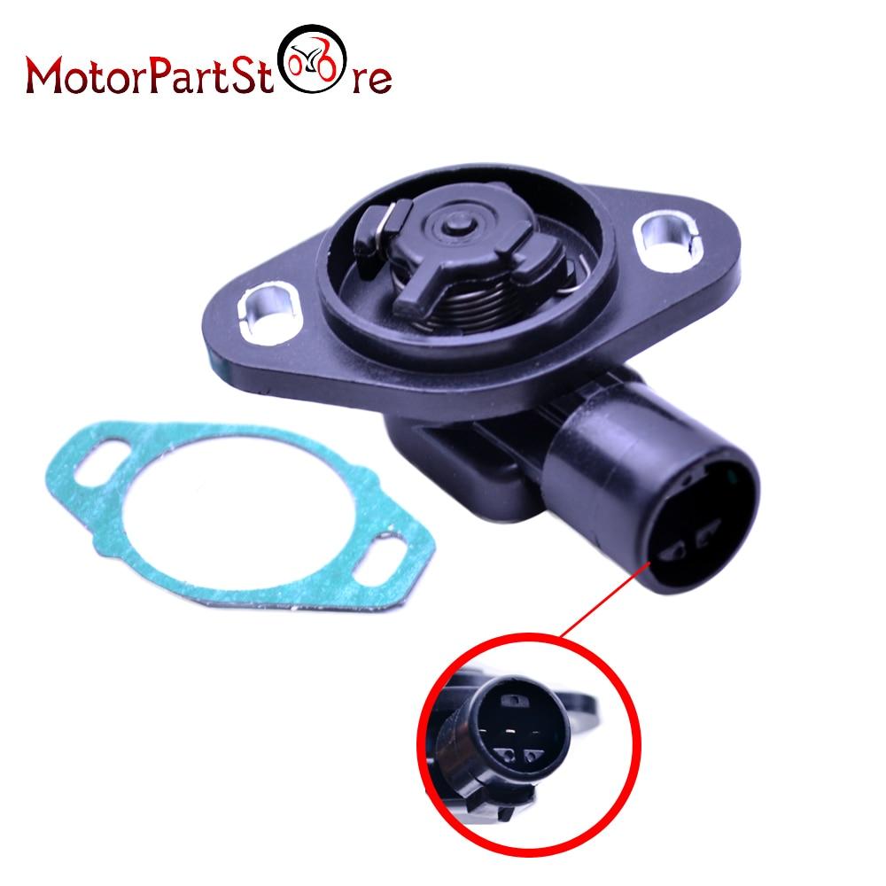 16400P06A11 Throttle Position Sensor TPS Kit For Honda Acura Integra Accord CRV