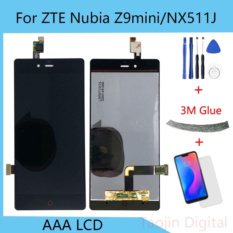 Для zte Nubia Z9 mini ЖК дисплей NX511J сенсорный экран дигитайзер Запасные части