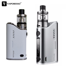 цена Original Vaporesso Attitude Kit 80W TC VW Box Mod Vape Electronic Cigarettes with Estoc tank Atomizer 2ML 4ML with EUC coil core онлайн в 2017 году
