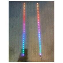 1 metr analizator widma Audio 30 LED kolorowy wskaźnik poziomu muzyki sterowanie głosem zdalnie sterowana wodoodporna 6 trybów wyświetlania