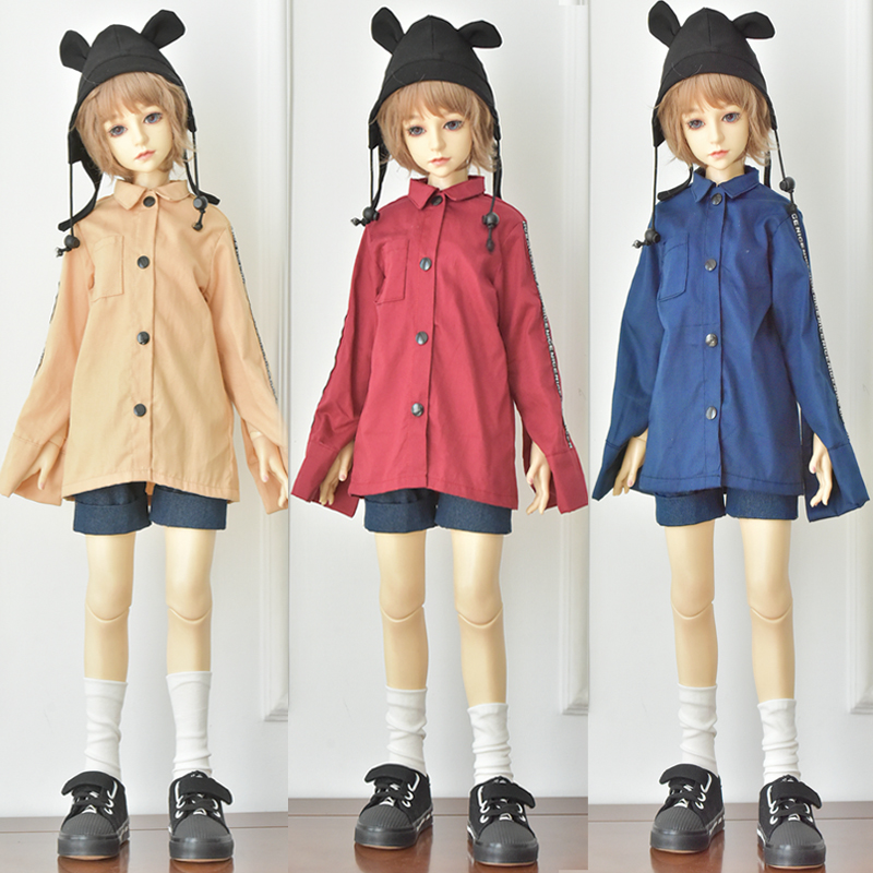 1/3 1/4 1/6 BJD Doll Clothes Blyth Baby Clothes SD Doll Casual Button Shirt Doll Clothes Doll Accessories Girls Toys Gifts