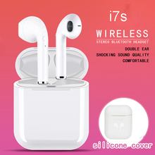 i7s Tws Wireless Headphones Bluetooth Earphones Air Earbuds Handsfree in ear Hea