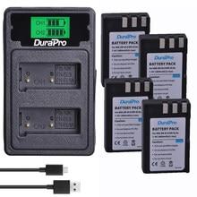 2 batteries rechargeables 1800mAh EN-EL9 EN EL9 + chargeur USB avec remplacement de Type C pour appareil photo Nikon D40 D40X D60 D3000 D5000