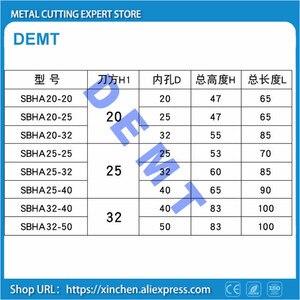 Image 5 - SBHA centrum wysokość 20/25 dla wewnętrznego D20 / D25 / D32 / D40 narzędzie pomocnicze uchwyt mechaniczne narzędzie tokarskie rękaw narzędzia uchwyt