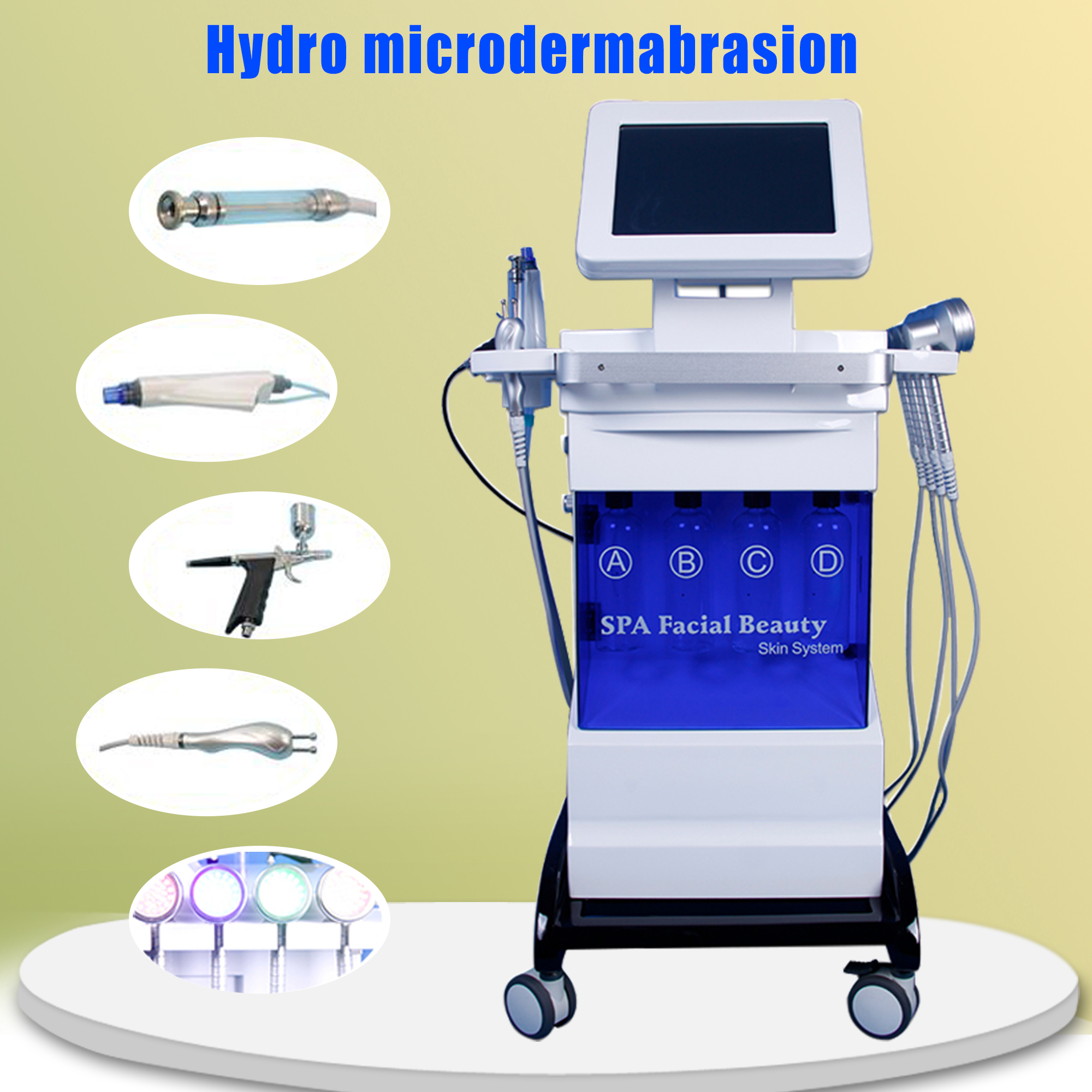 Hot Sale Skin Rejuvenation O2 Oxygen Spray Inject Hydrate Jet Beauty Machine Anti Aging