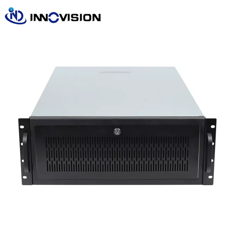 Newwest Technology AI GPU Server Case 4U 19inch Bitcoin Rackmount Chassis 650mm 11 Expansion Slots Computer Server Case