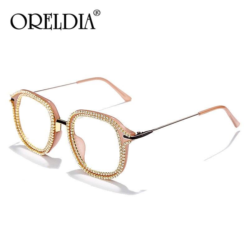 Fashion Designer Vintage Small Square Diamond Sunglasses Women 2020 Luxury Fashion Colorful Clear Lens Rhinestone Shades UV400