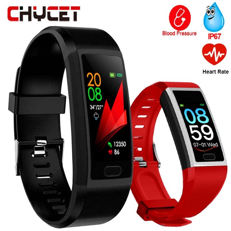 2019 Smart Watch Men Blood Pressure Smart Clock Waterproof Smartwatch Women Sport Health Bracelet Watch Smart For Android Ios