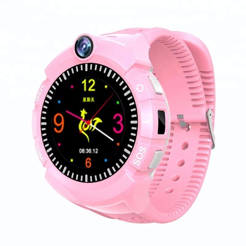 Hea762cec77af4d9a998d7a7ed9eb6d1fA - New Smart watch Kid SmartWatches GPS Baby Watch for Children SOS Call Location Finder Locator Tracker Anti Lost Monitor