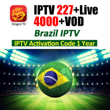 Brazil IPTV Subscription for Android TV BOX 227 Live 4000+ VOD Channels with 4K Channels IP TV Free Trial Smart Tv IPTV