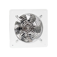 220V Ventilator Extractor Wall Mounted 6 Inch Exhaust Fan Low Noise Home Bathroom Kitchen Garage Air Vent Ventilation|Exhaust Fans| |  -