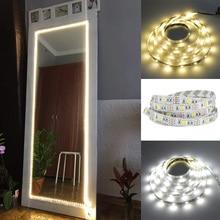 DC5V USB светодиодный макияж светильник Tocador con Эспехо зеркало светодиодный строка светильник туалетный столик, лампа для рабочего стола Vanity св...
