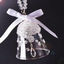 Car interior decoration, car interior art pendant accessories interior crystal wind chimes sparkling car accessories ornaments interior