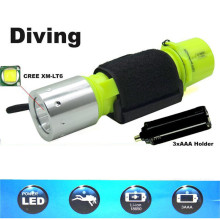 New Glare Diving Flashlight Waterproof Scuba Diver Diving Light LED 2000LM Super Bright Underwater Torch Lamp Hot Diving Tool z20 new led flashlight 2000lm cree t6 led waterproof underwater scuba dive diving flashlight torch light lamp for diving light