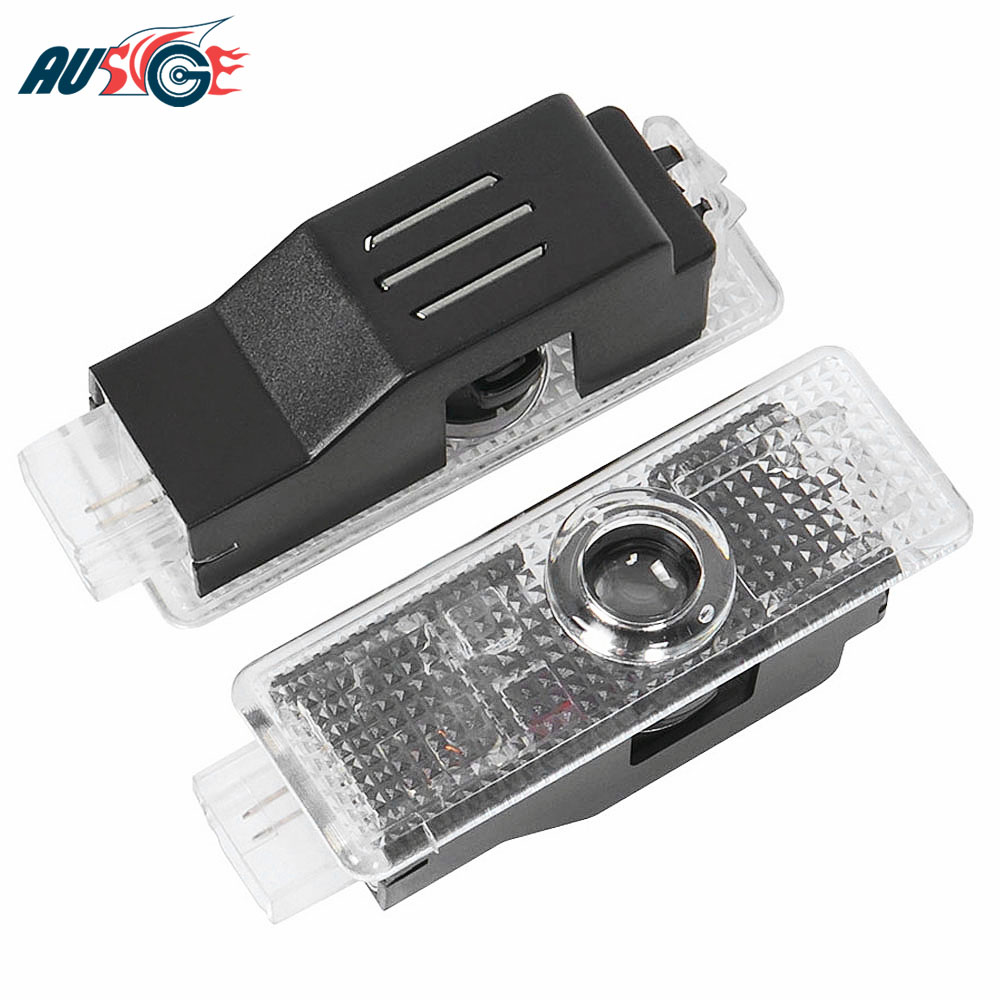 2X Car Logo Door Welcome Projector Light For BMW E90 E60 F30 F10 X5 E70 F20 E91 X3 X6 E87 Z4 E61 E63 F15 GT X1 E93  Accessories