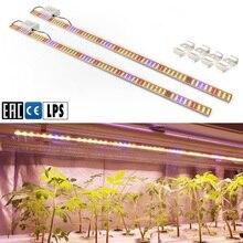 2 Stks/partij Led Kweeklampen Bar Volledige Spectrum Buis Plant Phytolamp Voor Cultivo Indoor Hydrocultuur Vegs Zaailingen Kas