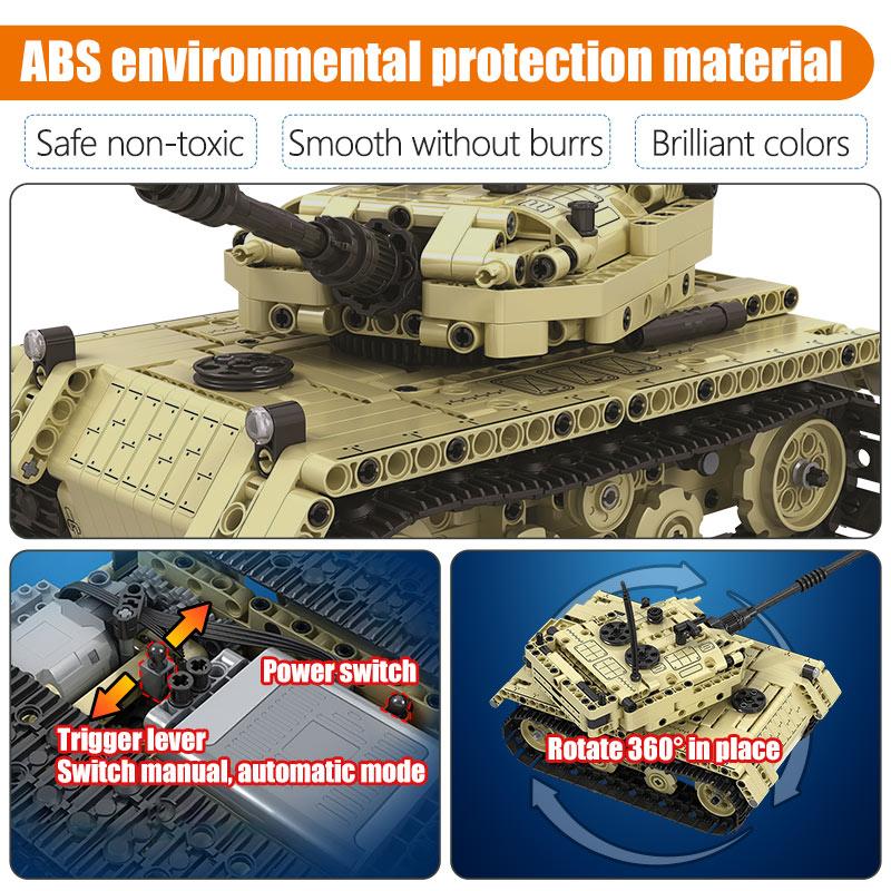 Winner Technical RC Tank Model Building Blocks
