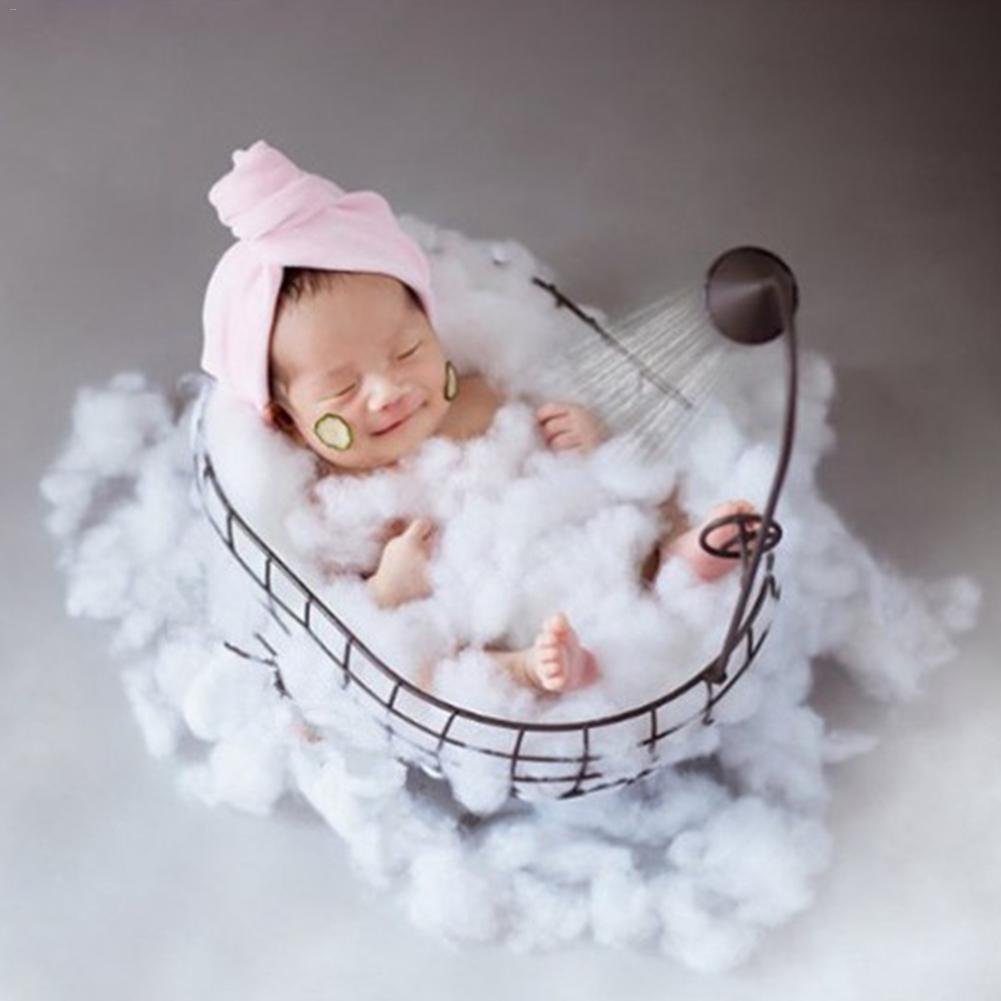 Newborn Nphotography Props Basket Children's Studio Woven Basket Baby Photo Baby Photo Weaving Frame Infant Basket Prop Toy Gift