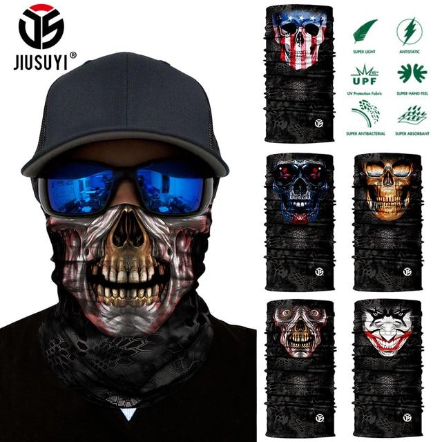 3D Seamless Bandana Neck Gaite Breathable Head Shield Half Face Cover Headband Anti-UV 1
