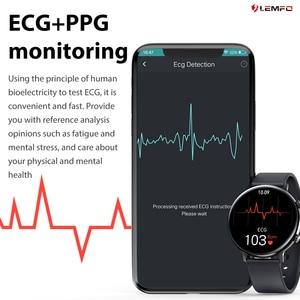 Image 2 - LEMFO GW33 Smart Watch Men Bluetooth Call IP67 Waterproof Fitness Tracker Sleep/Heart Rate/Blood Pressure Monitor Sports Watch