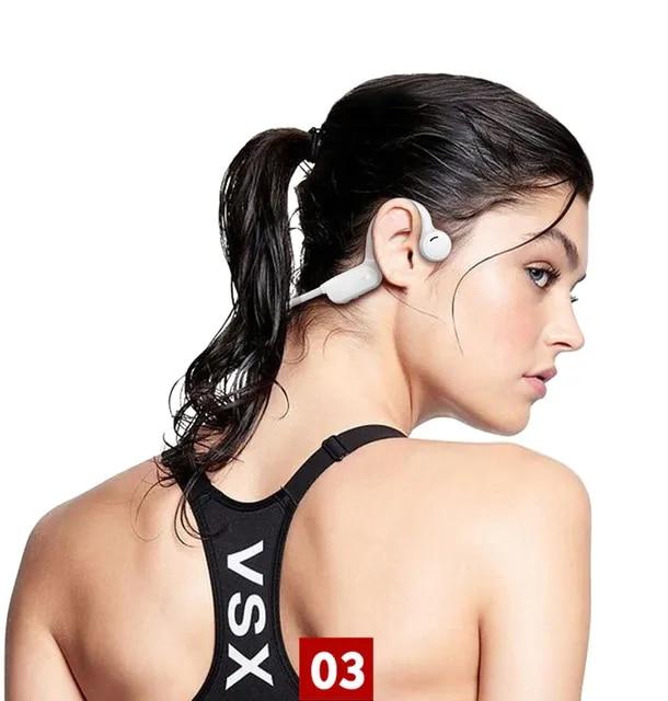5.0 Sports Bone Conduction Headphone Waterproof Running Earphone Cycling Headset Wireless Stereo Headset 5