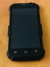 Verwendet Original LCD Display + Digitizer Touchscreen + Rahmen für Geotel G1 MTK6580A Quad Core Kostenloser versand