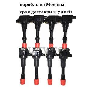Image 1 - 8 PCS/LOT bobine dallumage arrière et avant 30520 PWA 003 30521 PWA 003 pour Honda Civic 7 8 VII VIII JAZZ FIT 2 3 II III 1.2 1.3 1.4