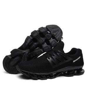 Image 5 - Big Size 36 48 letnie męskie trampki moda wiosna buty outdoorowe męskie obuwie męskie wygodne buty z siatką dla mężczyzn