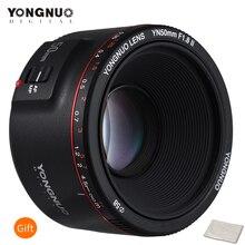 YONGNUO YN50mm F1.8 II büyük diyafram otomatik odaklama Canon lensi Bokeh etkisi kamera Canon lensi EOS 70D 5D2 5D3 600D DSLR