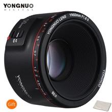 YONGNUO lente de enfoque automático de gran apertura YN50mm F1.8 II para Canon Bokeh, lente de cámara con efecto para Canon EOS 70D 5D2 5D3 600D DSLR