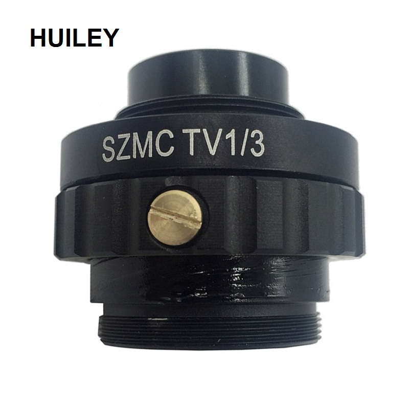 C Mount Adapter Reduce Lens For Trinocular Stereo Microscope 1/3 CTV CCD USB Industrial Camera SZMCTV1/3 Connector 0.3X 0.5X