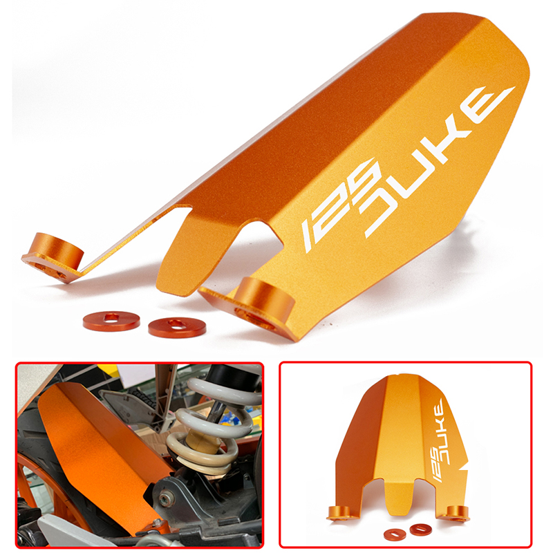 Motorcycle CNC Aluminum Rear Fender Extension Extender For KTM DUKE 125 DUKE125 2013-2016 2017 Rear Fender Splash Gaurd image