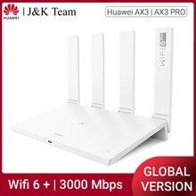 Huawei honor roteador 3, versão global, roteador sem fio, wifi 6 plus malha wifi 5ghz 3000mbps wi-fi extensor casa inteligente fácil configuração