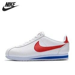 Классическая Кожаная спортивная обувь для мужчин Nike CORTEZ, обувь, супер-светильник, спортивная обувь