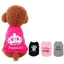 Одежда для маленьких собак, XS-L, чихуахуа, зимняя одежда, одежда для собак, жилет для девочек, принцесса, щенок, пальто для собак, одежда для домашних животных