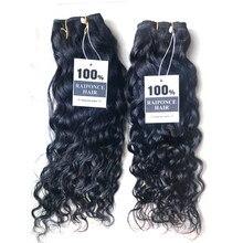 RAIPONCE gros vague d'eau faisceaux de cheveux Extensions de cheveux humains