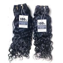 RAIPONCE Wholesale Water Wave Hair Bundles Human Hair Extensions