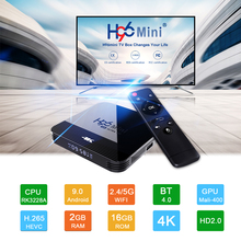 H96 Mini H8 Smart Android TV Box Android 9.0 2GB 16GB RK3228