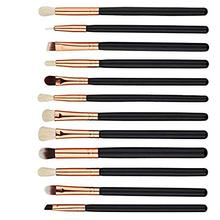 Professional 12pcs Eyeshadow Makeup Brushes Set pincel maquiagem Pro Purple Eye Shadow Blending Make Up Brushes Soft Synthetic недорого