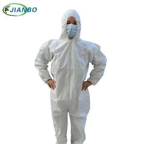 vestuario protetor descartavel impermeavel coverall industrial epidemico spray pesticidas protecao quimica amianto trabalho