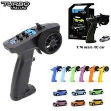 Turbo Racing 1:76 RC автомобиль мини Полный пропорциональный оптовая продажа Электрический гоночный машина RTR комплект 2,4 ГГц гоночный опыт автомоб...