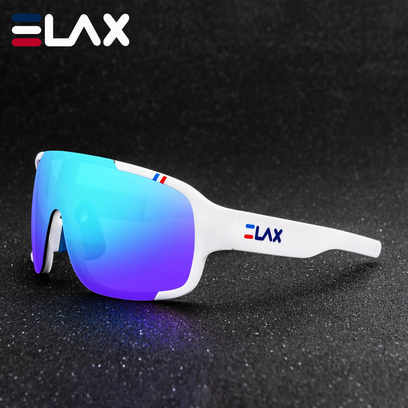ELAX BRAND 2019 NEW Outdoor Sport Cycling Glasses Men Women UV400 Mtb Bicycle Cycling Sunglasses POC CRAVE Mountain Bike Eyewear