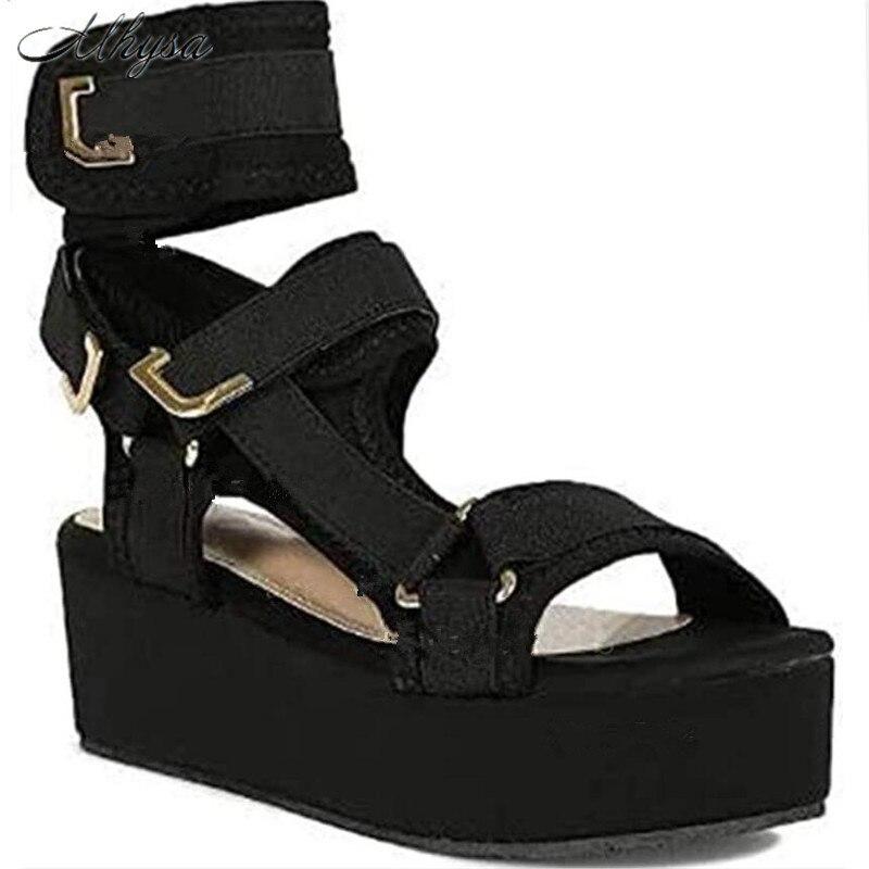 2020 Women Sandals Ladies Gladiator Sandals Colorful Summer Sandals Women Platform Wedges Casual Shoes Woman Plus Size 35-43