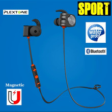 Magnetic Wireless Bluetooth Earphone Earbuds Waterproof Stereo Sport Headset With Mic Handsfree Neckband Earphones For Phone