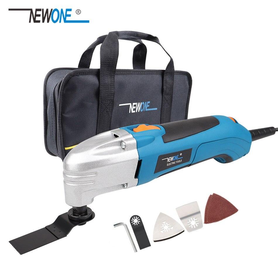 NEWONE 120 V/220 V électrique multifonctionnel Kit d'outils oscillants multi-outils outil électrique tondeuse électrique accessoires de scie