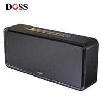 DOSS caja de resonancia XL Portátil caja de sonido Altavoz Bluetooth inalámbrica controlador Dual 3D estéreo bajo Subwoofer casa altavoz caja de música