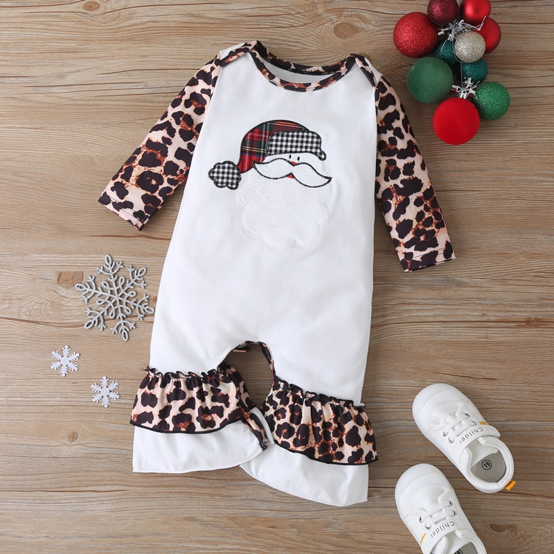 Детский комбинезон с леопардовым принтом на возраст 0 18 месяцев